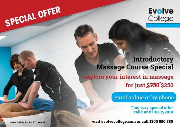 Introductory Massage Course - Special Offer
