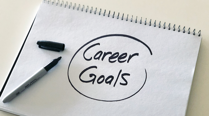 Setting career goals you can achieve
